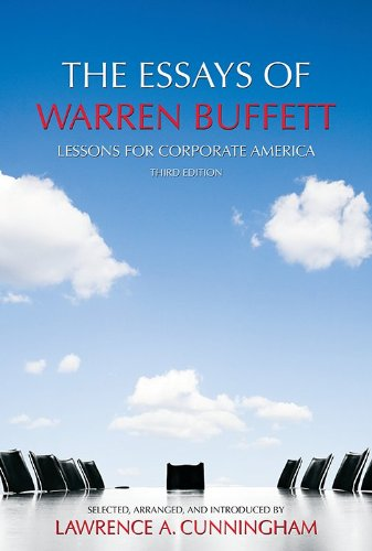9781611634099: The Essays of Warren Buffett: Lessons for Corporate America, Third Edition