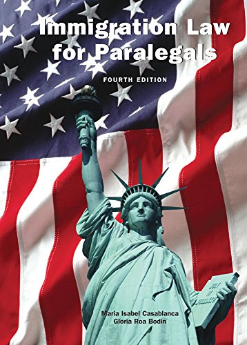 9781611635140: Immigration Law for Paralegals, Fourth Edition