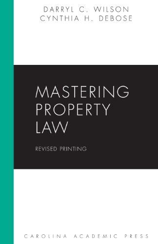9781611635393: Mastering Property Law, Revised Printing (Carolina Academic Press Mastering)