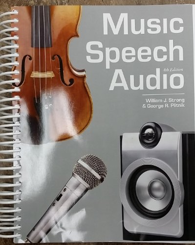9781611650068: Music Speech Audio 4th Edition BYU