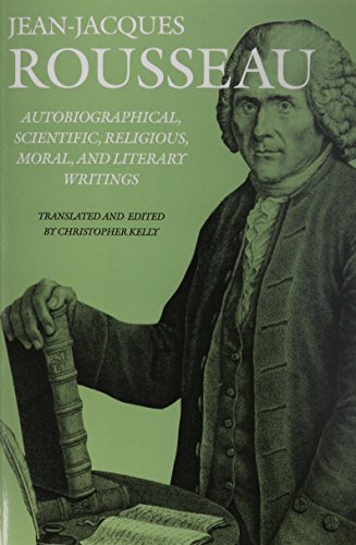9781611686456: Autobiographical, Scientific, Religious, Moral, and Literary Writings (Collected Writings of Rousseau)