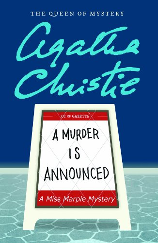 9781611731774: A Murder Is Announced (Miss Marple Mysteries (Large Print))