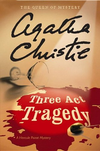 Three Act Tragedy (Hardcover): Agatha Christie