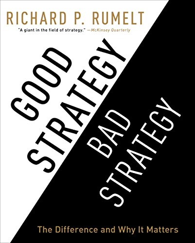 9781611748178: Good Strategy/Bad Strategy: The Difference and Why It Matters
