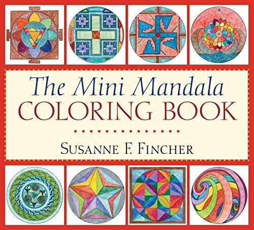 9781611801767: The Mini Mandala Coloring Book