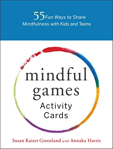 9781611804096: Mindful Games Activity Cards: 55 Fun Ways to Share Mindfulness with Kids and Teens