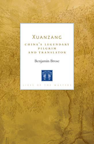Benjamin Brose, Xuanzang