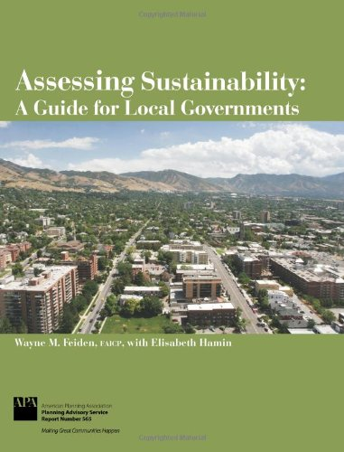 9781611900002: Assessing Sustainability: A Guide for Local Governments
