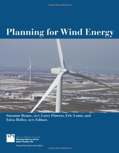 Planning for Wind Energy (Planning Advisory Service Report)