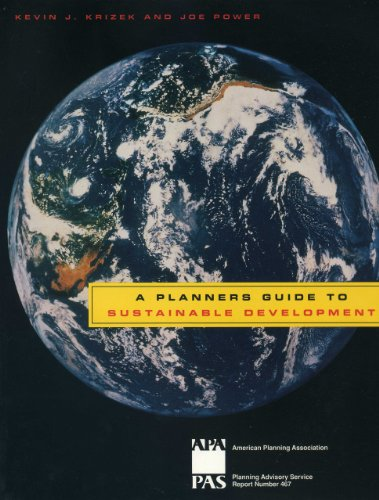 9781611900415: A Planners Guide to Sustainable Development (Planning Advisory Service Reports)