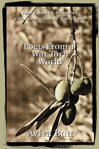 Poets From a War Torn World: Aviva Butt