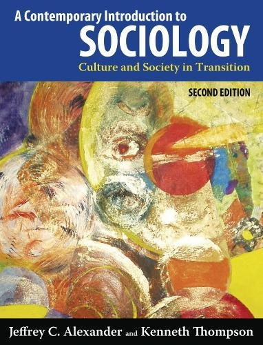 9781612050294: A Contemporary Introduction to Sociology, 2nd Edition: Culture and Society in Transition
