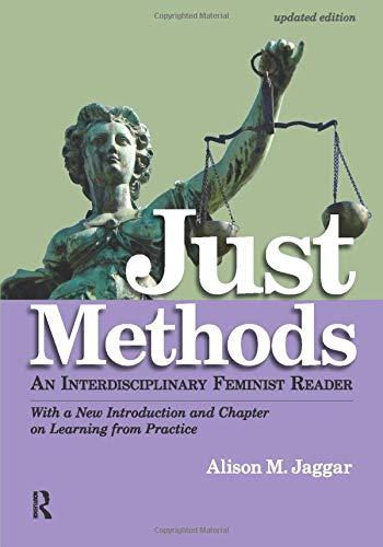 9781612053035: Just Methods: An Interdisciplinary Feminist Reader