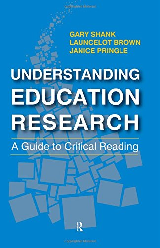 9781612055800: Understanding Education Research: A Guide to Critical Reading