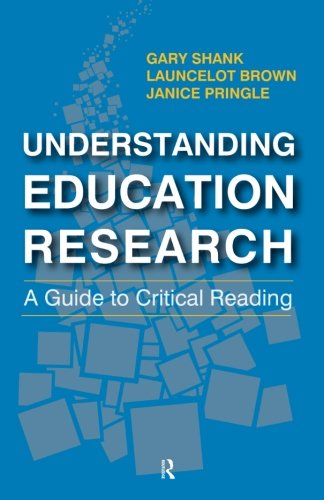 9781612055817: Understanding Education Research: A Guide to Critical Reading