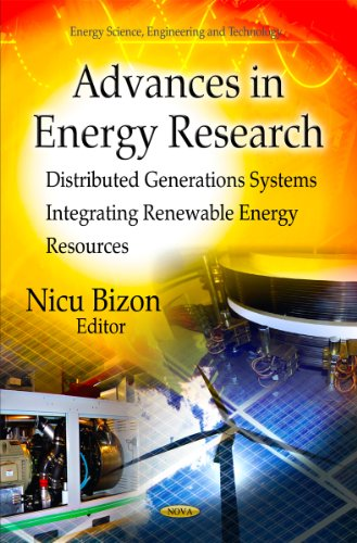 9781612099910: Advances in Energy Research: Distributed Generations Systems Integrating Renewable Energy Resources (Energy Science, Engineering and Technology)