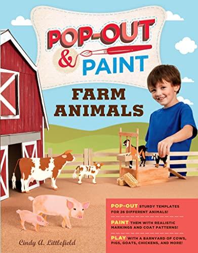 9781612121390: Pop-Out & Paint Farm Animals