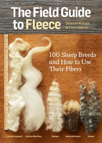 9781612121789: The Field Guide to Fleece: 100 Sheep Breeds and How to Use Their Fibers