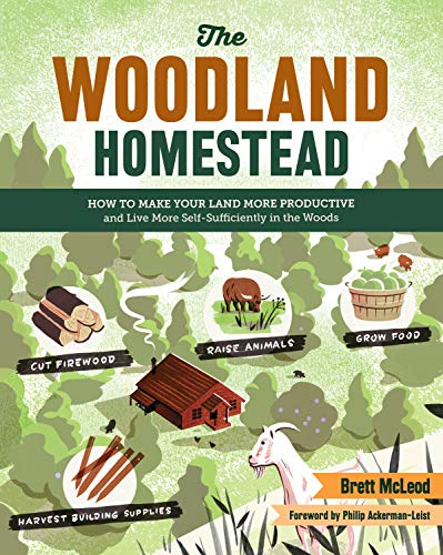 The Woodland Homestead: How to Make Your Land More Productive and Live More Self-Sufficiently in ...