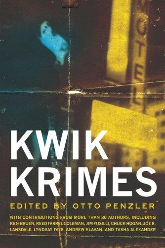 Kwik Krimes ***SIGNED***: Otto Penzler, Editor