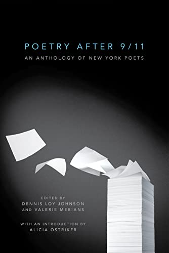 9781612190006: Poetry After 9/11: An Anthology of New York Poets
