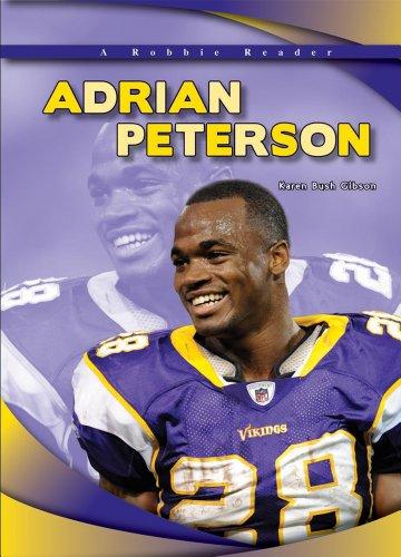 9781612280608: Adrian Peterson (Robbie Readers)