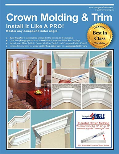 9781612331805: Crown Molding & Trim: Install It Like a PRO!