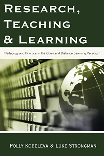 Research, Teaching and Learning: Pedagogy and Practice: Polly Kobeleva, Luke