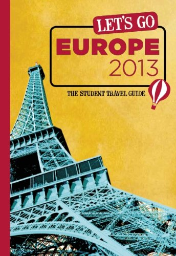 9781612370217: Let's Go Europe 2013: The Student Travel Guide