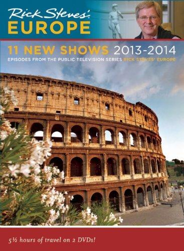 Rick Steves Europe 11 New Shows DVD 2013 - 2014