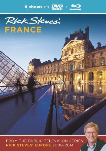 Rick Steves France DVD Blu-Ray 20002014