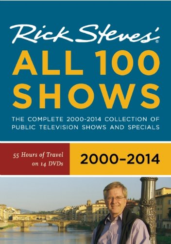 Rick Steves' Europe All 100 Shows DVD Boxed Set 2000–2014