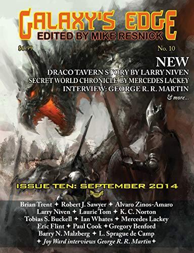 Galaxy's Edge Magazine: Issue 10, September 2014: Niven, Larry; Lackey, Mercedes