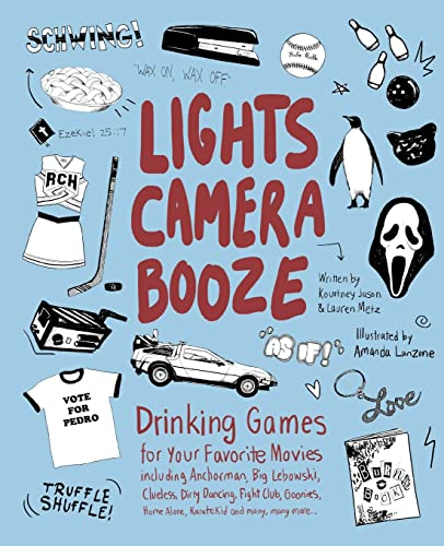 Lights Camera Booze: Drinking Games for Your: Jason, Kourtney; Metz,