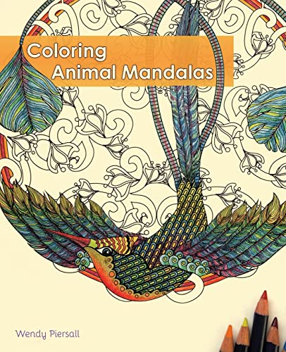 9781612433509: Coloring Animal Mandalas