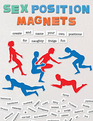 9781612434339: Sex Position Magnets: Create and Name Your Own Positions for Naughty Fridge Fun