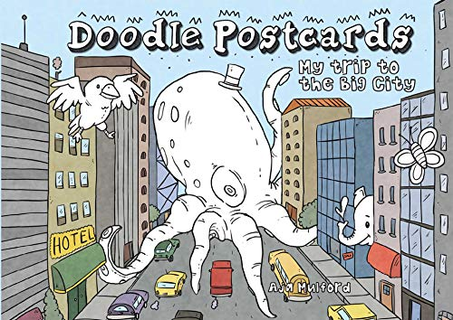 9781612434407: My Trip to the Big City: Doodle Postcards