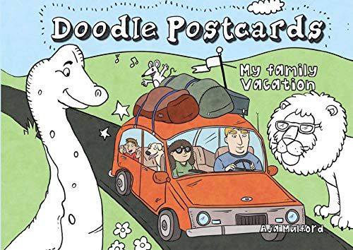 My Family Vacation: Doodle Postcards: Aja Wells