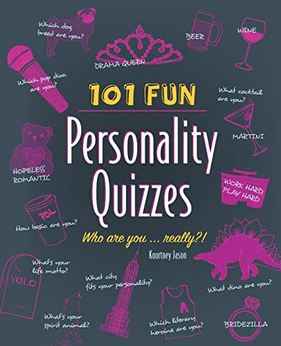 9781612434810: 101 Fun Personality Quizzes: Who Are You . . . Really?!