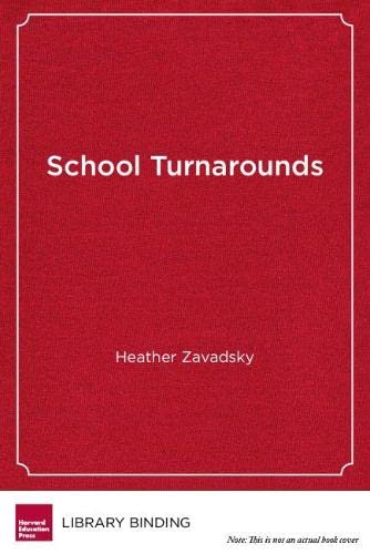 9781612501352: School Turnarounds: The Essential Role of Districts (Educational Innovations Series)