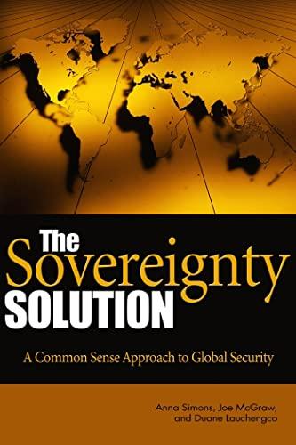 The Sovereignty Solution: Anna Simons