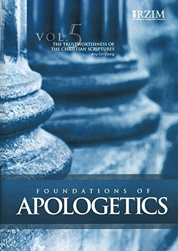 9781612562049: The Trustworthiness of the Christian Scriptures, Vol. 5 - DVD with PDF