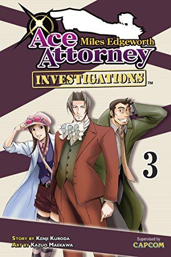 9781612620961: Miles Edgeworth: Ace Attorney Investigations 3