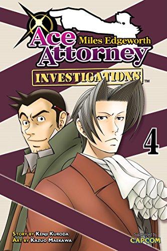 9781612620978: Miles Edgeworth: Ace Attorney Investigations 4