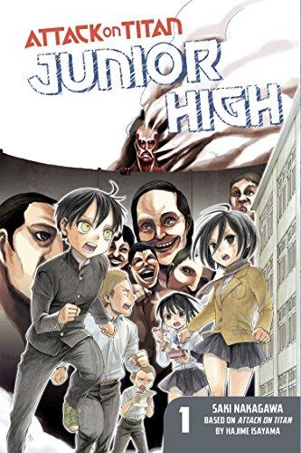 Attack on Titan: Junior High, Volume 1 (Paperback or Softback)