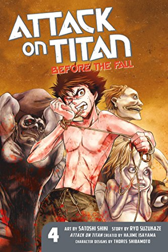 9781612629810: Attack on Titan: Before the Fall 04