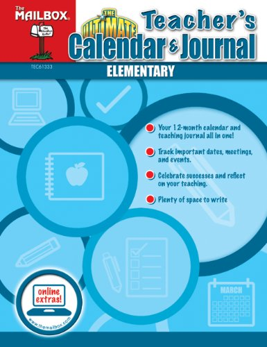 The Ultimate Teachers Calendar & Journal (Elementary) (1612761488) by The Mailbox Books Staff