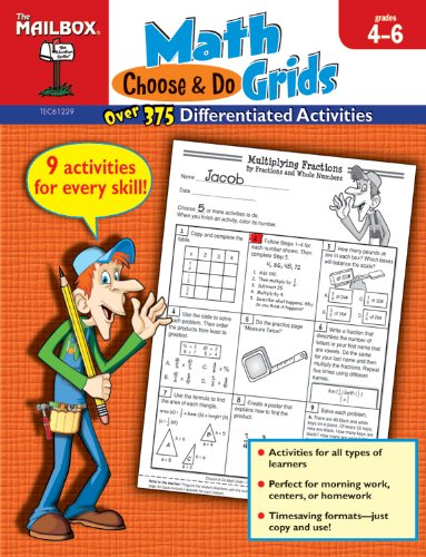 9781612762111: Choose & Do Math Grids Intermediate Grades 4-6