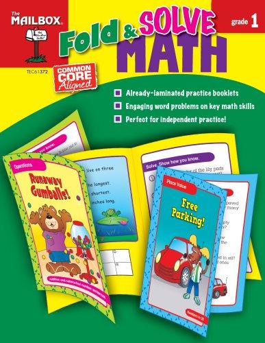 Fold & Solve Math (Gr. 1): The Mailbox Books Staff