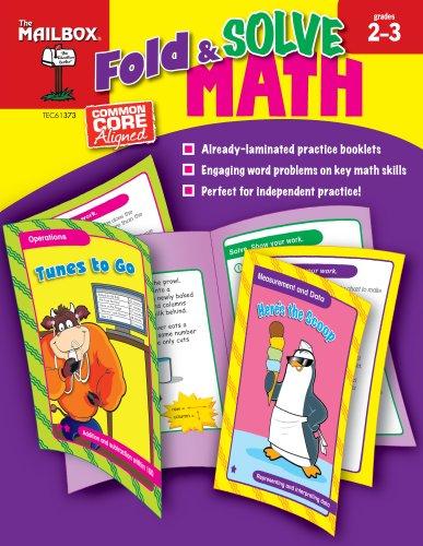9781612762524: Fold & Solve Math (Grs. 2-3)